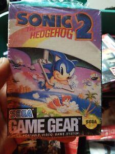Nwt Sonic The Hedgehog 2 For Sega Game Gear Video Game Brand New Ebay