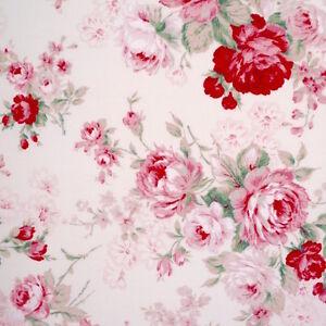 Verity-II-Vintage-Floreale-pallido-Rosa-Tessuto-Di-Cotone-Patchwork-Cucito