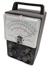 Vtg Heathkit Analog Vacuum Tube Voltmeter Model V 7 V 7a Weston No Probes