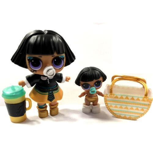 Lot 2 Poupée surprise Lol Dolls Pharaoh Babe baby Family /& Lil sister Authentic