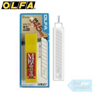 OLFA-12-5MM-UTILITY-KNIFE-BLADES-10PK-MTB10B-NON-SLIP-STANLEY-SNAP-OFF