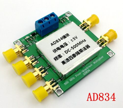 AD834 DC-500MHz 4-Quadrant Multiplier Module Frequency Mixing//Broadband Modem