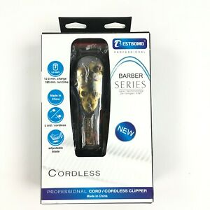 Cordless Hair Trimmer Bestbomg Professional Hair Clippers Barber Series Skull Ebay