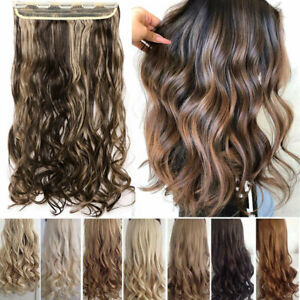One-Piece-THICK-100-Real-Natural-Clip-in-as-Human-Hair-Extensions-Full-Head-HYT