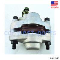Fits 1998-2004 Polaris Scrambler 500 2x4 4x4 Rear Brake Caliper Mounting W\pads