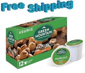 Green mountain hazelnut decaf ground coffee
