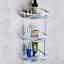 Wall Corner Rack Holder Bathroom  Shower Caddy Shelf TriangularStorage Organizer