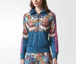 11a06b822b7 Details about Adidas Originals Firebird Borbomix Track Jacket Floral BR5141