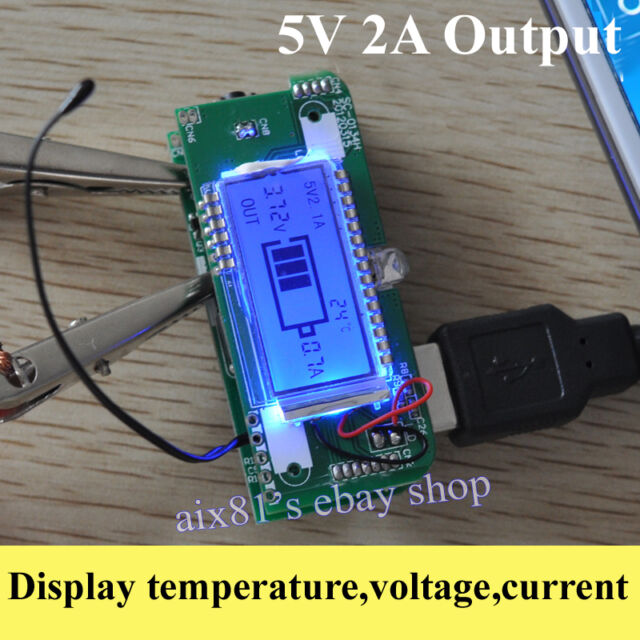 Dual USB 5V 1A 2A Mobile Power Bank 18650 Battery Charger PCB For Phone DIY