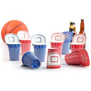 Beer-Basket-Cups-Suck-UK-20er-Set-Becher-Pappbecher-Party-Feier-Spass-Basketball