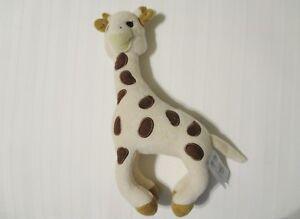 Vulli Sophie The Giraffe Plush Rattle Toy Euc Ebay