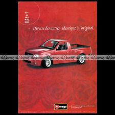FORD SVT F150 LIGHTNING 2000 BBURAGO Burago - Pub / Pubblicità / Advert #A436