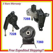 FOR 2000-2005 TOYOTA ECHO 1.5L ENGINE MOTOR & TRANS. MOUNT KIT SET 3PCS NEW M348