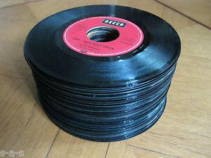 50 deko singles vinyl schallplatten basteln party - Deko schallplatten ...