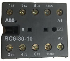 Abb B6 30 10 01 Mini Contactor 24vdc 12 Amp Or Bc6c Y Rated See Spec Below
