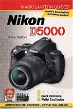 NIKON D5000 Digital Camera Manual Guide Book - Magic Lantern NEW NR! ><><><><><>