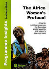 The Africa Women's Protocol: A Tool to Mobilise Resources for Financing Gender Equality and Women's Empowerment by Oxfam International (Loose-leaf, 2010)