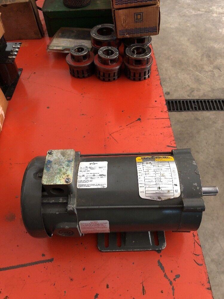 Baldor CD3476 3 4Hp 1750RPM 180V DC 56C 5 8  Shaft Direct Current Motor