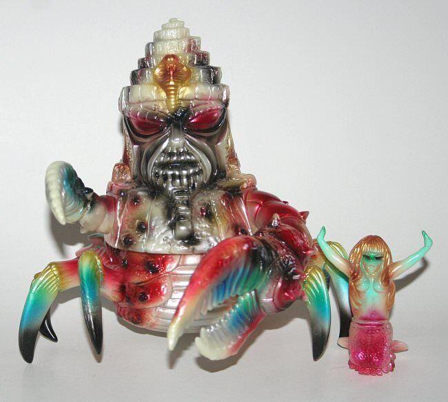 Paul Kaiju X Blobpus Rey Jinx brillan en la oscuridad con omake Sellado con encabezado