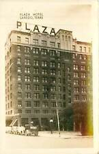 Texas, TX, Laredo, Plaza Hotel Real Photo Postcard
