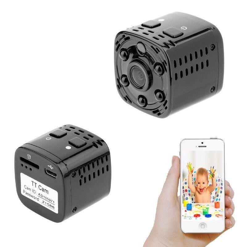 2GB Mini Cubo Cámara de Vigilancia Live Wlan Ip P2P rojo Live Vídeo Tono A239
