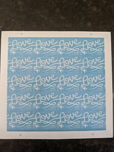 USPS Love Skywriting - 1 Sheet of 20 First Class Forever Postage