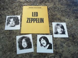 LED ZEPPELIN PHOTOS AND TOUR CARD - <span itemprop='availableAtOrFrom'>Kilmarnock, United Kingdom</span> - LED ZEPPELIN PHOTOS AND TOUR CARD - Kilmarnock, United Kingdom