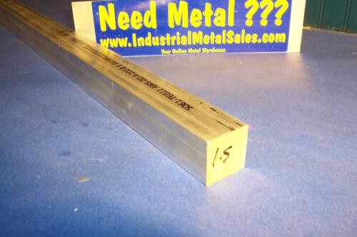 """1-1//2/"""" x 1-1//2/"""" x 60/""""-Long 6061 T651 Aluminum Square Bar-/>1.50/"""" 6061 Square Bar"""