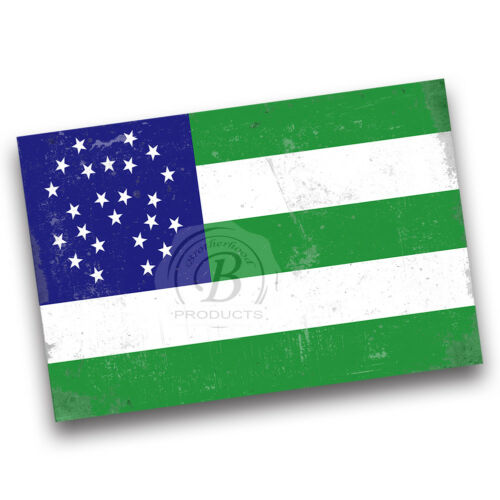 New York Police Department Green and White Department Flag Wall Decor Poster