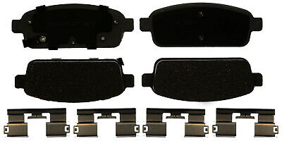 Disc Brake Pad Set-Ceramic Disc Brake Pad Front ACDelco Advantage 14D1273CHF1