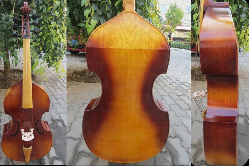Baroque Style solid wood SONG Brand maestro 6 string  lila da gamba,braun Farbe