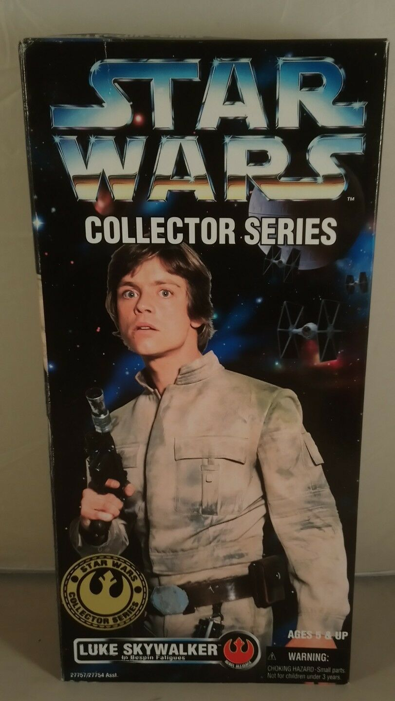 Star Wars Collectors Series Luke Skywalker in Bespin Fatigues 12'' boxed
