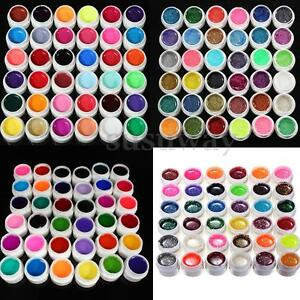36-Colori-Gel-UV-Vari-Nail-Art-Colorati-Ricostruzione-Unghie-Pro-Manicure-Decora