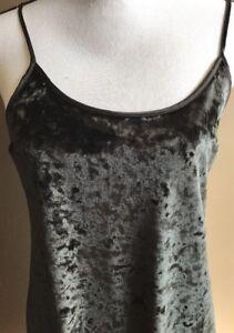 victoria's secret crushed velvet slip dress size xs/s