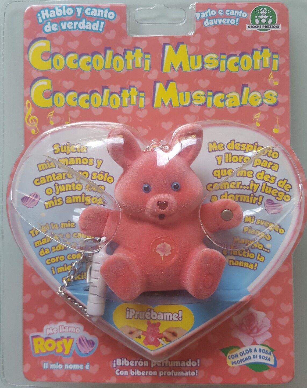 Factory sealed collector´s item Rosy Musicotti rosado Coccolotti