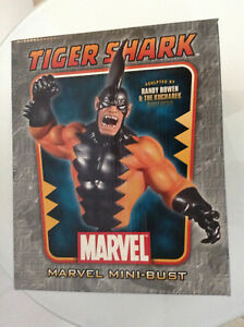 MARVEL-BOWEN-TIGER-SHARK-BUST-NAMOR-THE-SUB-MARINER-VILLAIN-871-1500-RARE-MIB