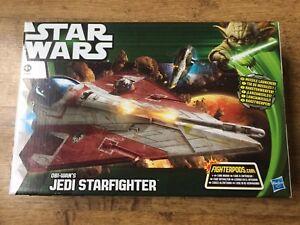 Jedi Starfighter d'Obi-wan Star Wars Episode Ii Classe Attaque Véhicule A0880 5010994686857