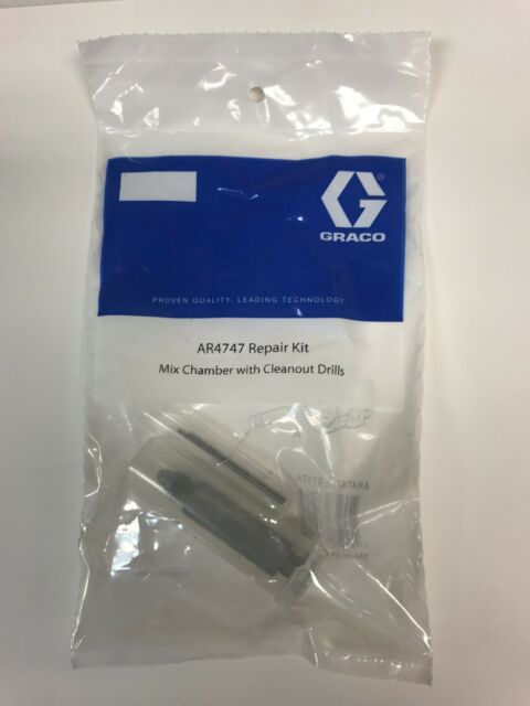 1 Set AR4747 Mix Chamber Drill Bits Aftermarket Fit For graco fusion AP Gun