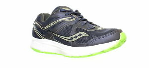 Saucony-Mens-S20421-1-Navy-Slime-Running-Shoes-Size-7-Wide-1287466
