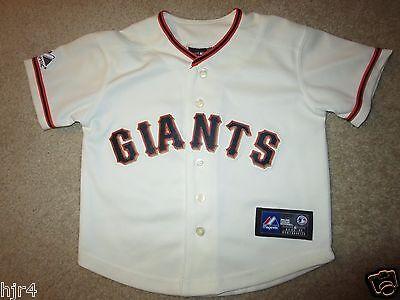 Fanartikel ZuverläSsig San Francisco Giants Majestic Mlb Trikot Kleinkind 4t Niedlich