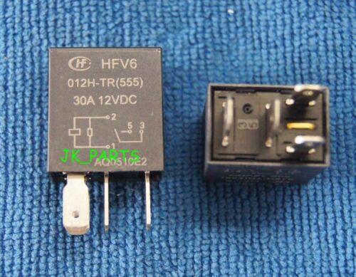 12VDC HONGFA Relay 4PINS 555 1pcs ORIGINAL HFV6-012H-TR HFV6 012H-TR