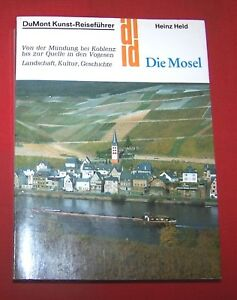 DuMont-Kunst-Reisefuehrer-Die-Mosel-Heinz-Held-1991-TOP