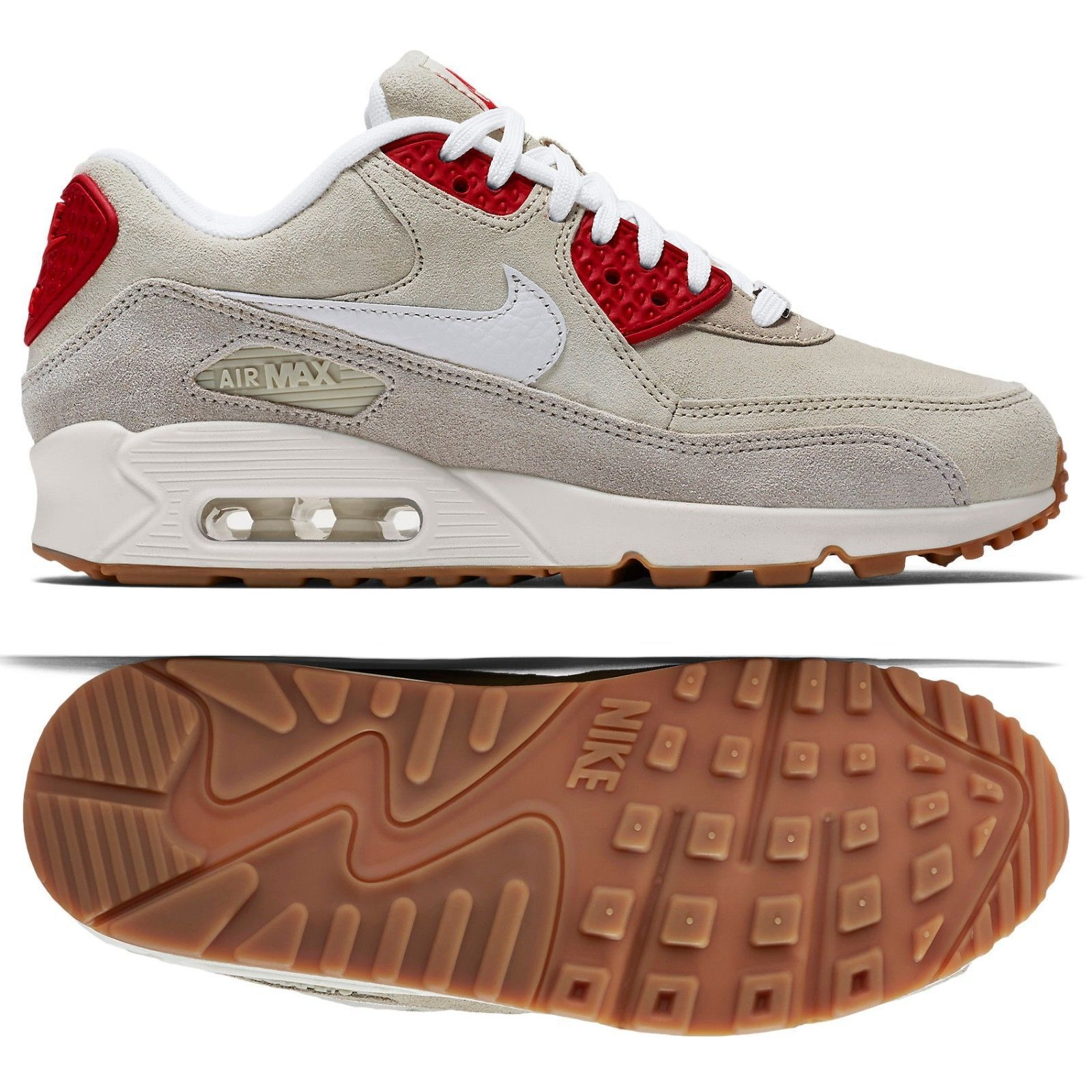 NIB WOMEN'S NIKE AIR MAX 90 QS CITY PACK NEW YORK NYC CHEESECAKE SHOES SIZE 8.5