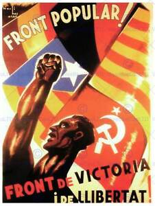 La guerra civile spagnola fronte popolare il comunismo - La finestra di fronte andrea guerra ...