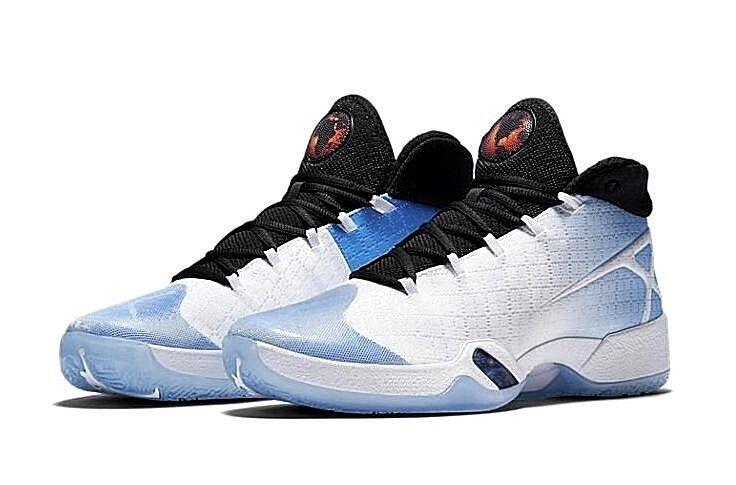 Nike Air Jordan XXX 30 UNC Tar Heels Blue White Basketball Shoes Kicks 811006