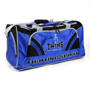 Twins BAG2 Gym Bag Blue Holdall Muay Thai Boxing gym Training BAG2