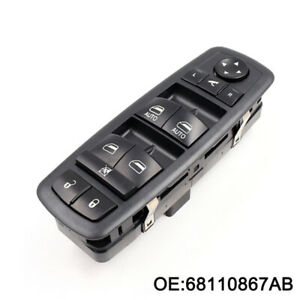 Master Power Window Switch for Chrysler Town Country Dodge Grand Caravan Ram 1500 2500 3500 OE# 68110867AB