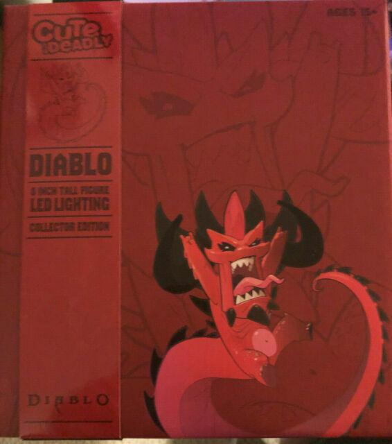 Diablo Colossal Cute but Deadly Diablo 8-Inch Vinyl Figure LED lights up