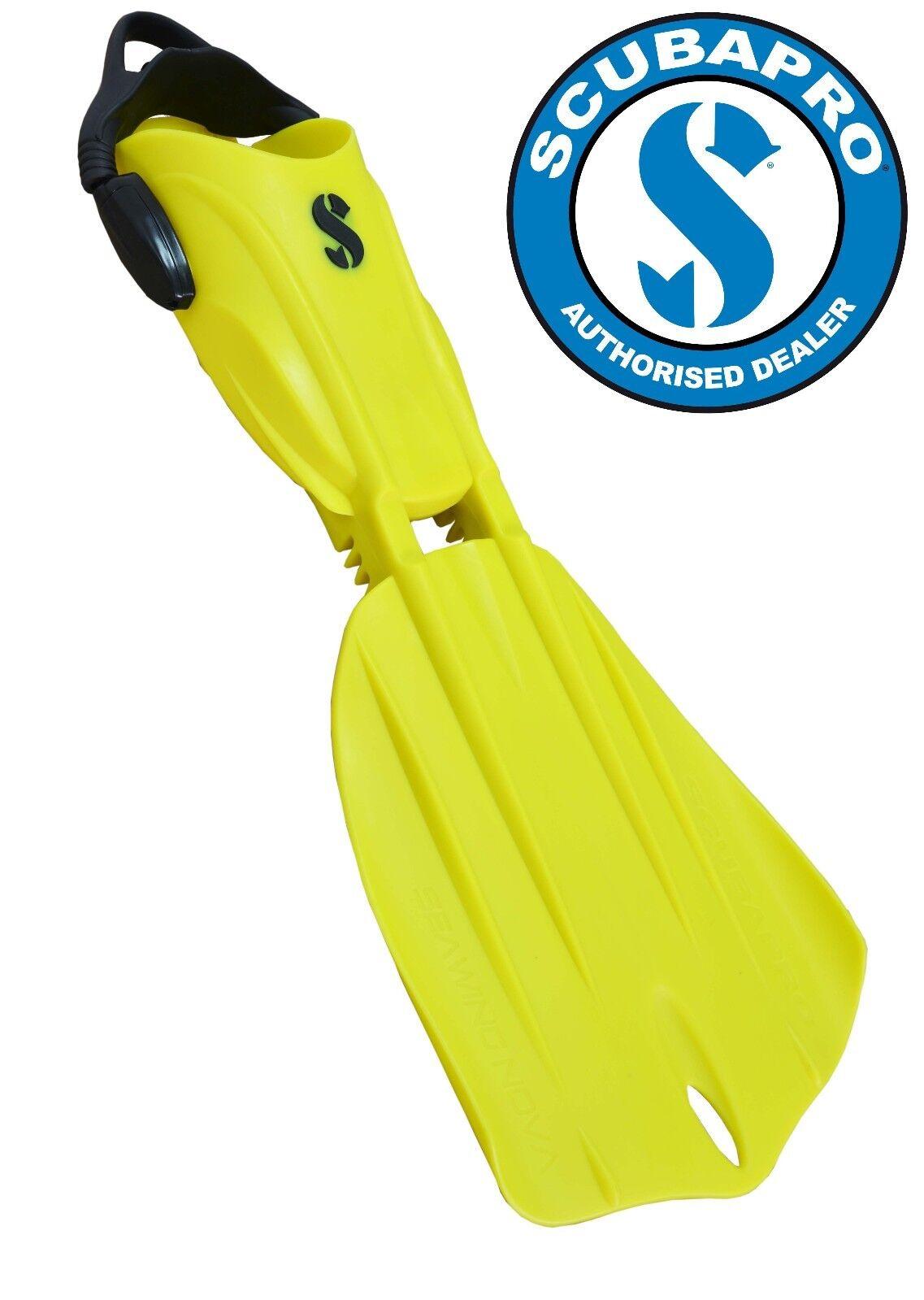 Scubapro Fins Seawing Nova   Yellow   Free Shipping