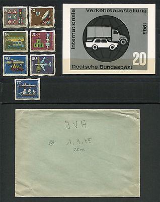 Brd Foto-essay 468/474 Iva 1965 Auto Lkw Entwurf Car Photo-essay Proof E443 Verkaufsrabatt 50-70%